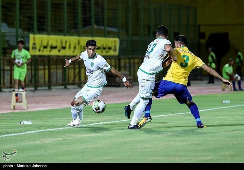 جام حذفی فوتبال، توقف ماشین سازی و برتری مس کرمان در نیمه اول